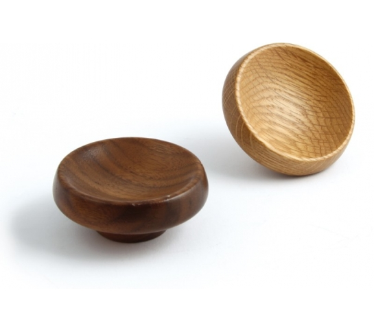walnut door knobs photo - 10
