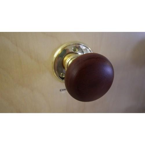 walnut door knobs photo - 11