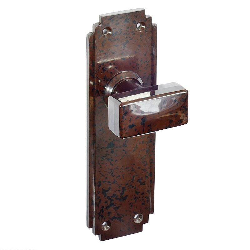 walnut door knobs photo - 17