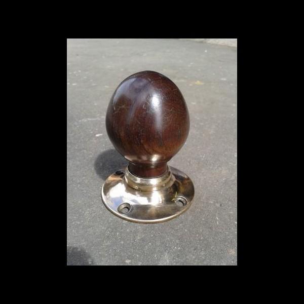 walnut door knobs photo - 4