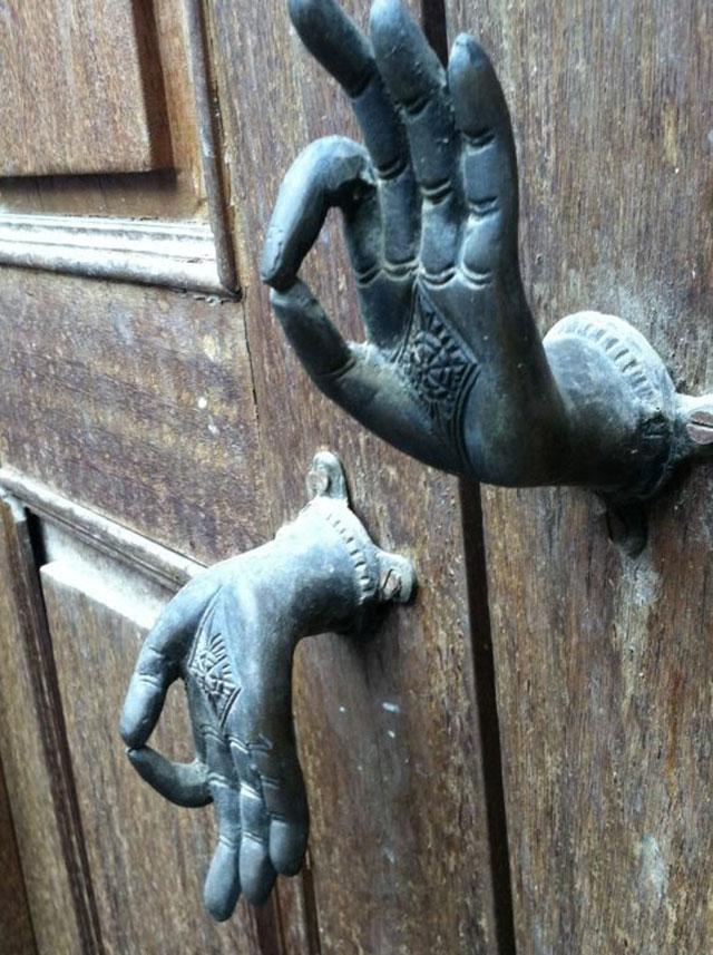 weird door knobs photo - 3