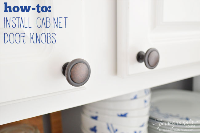 where to put knobs on cabinet doors photo - 1