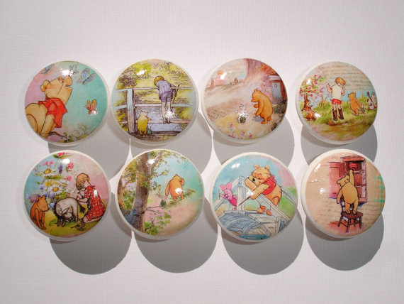 winnie the pooh door knobs photo - 1