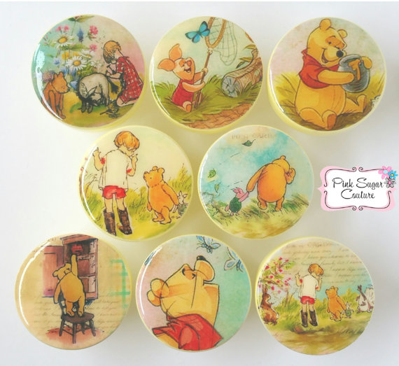 winnie the pooh door knobs photo - 10