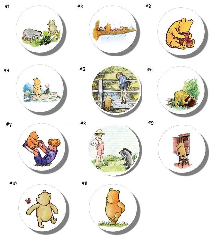 winnie the pooh door knobs photo - 16