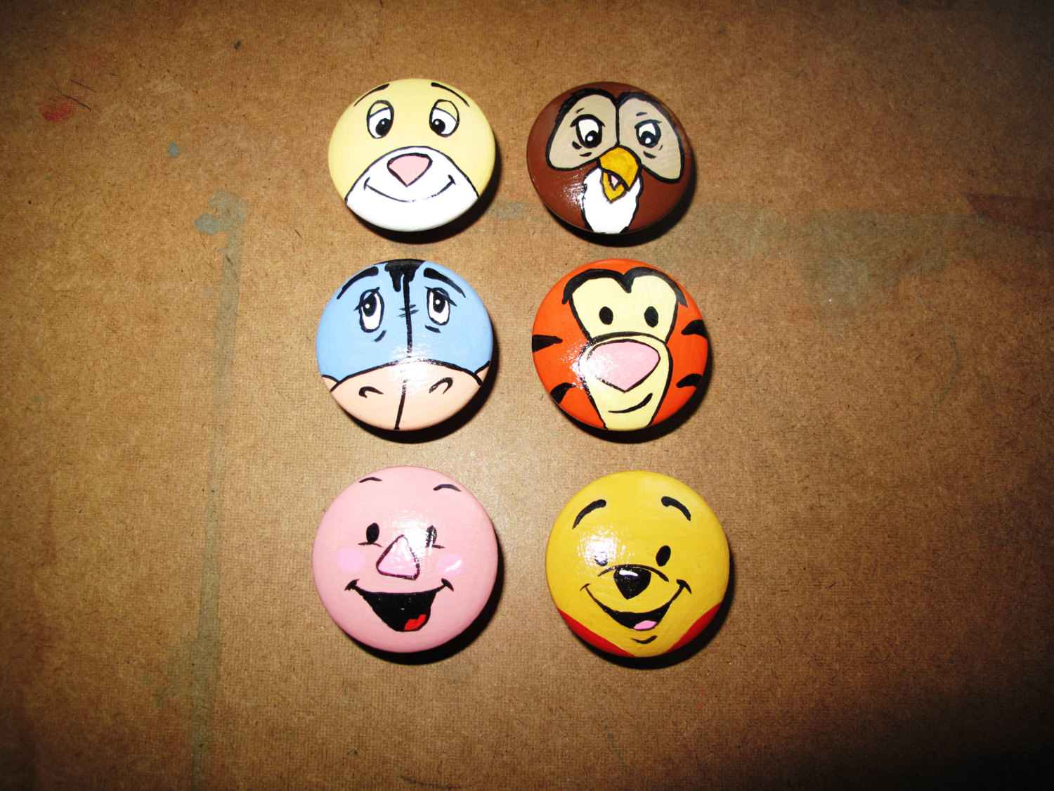 winnie the pooh door knobs photo - 3
