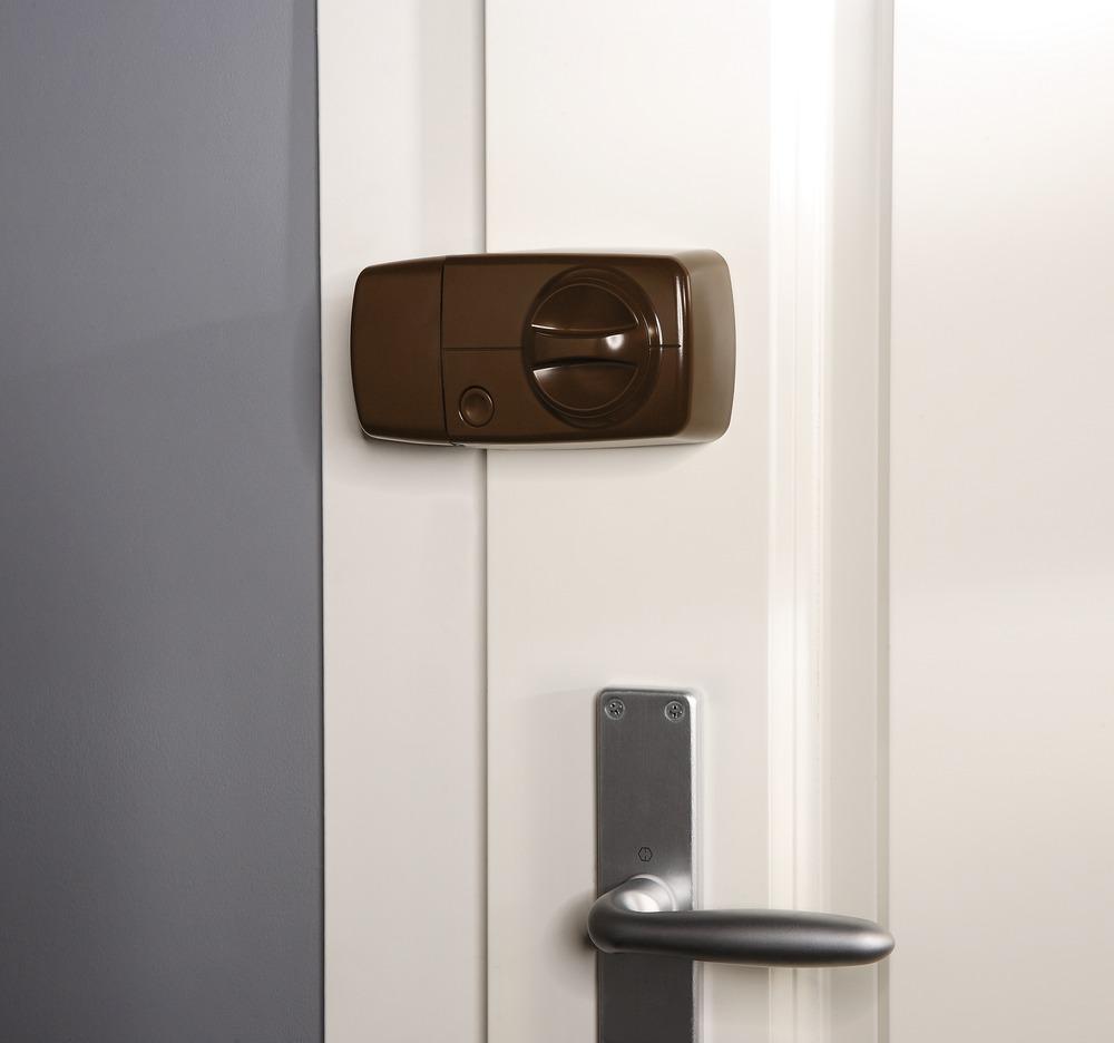 wireless door knob photo - 2