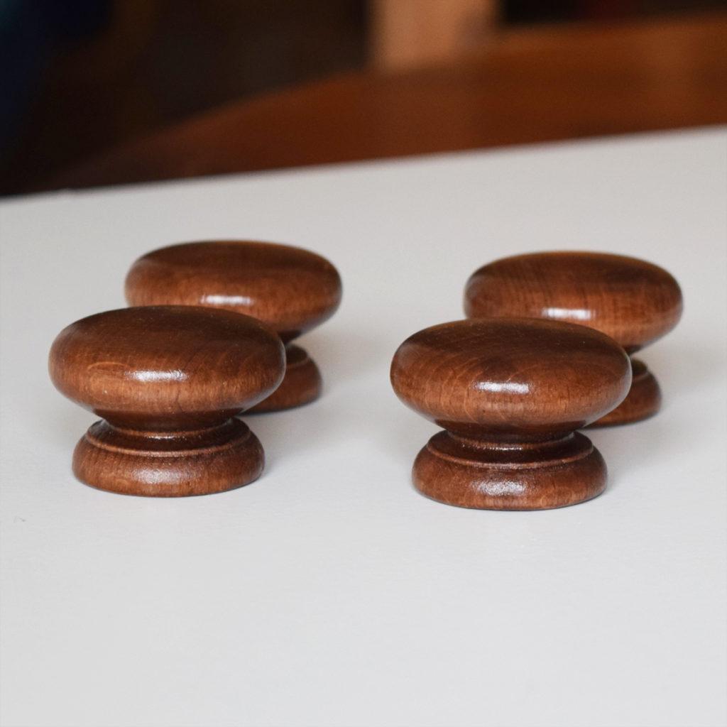 wooden cupboard door knobs photo - 13