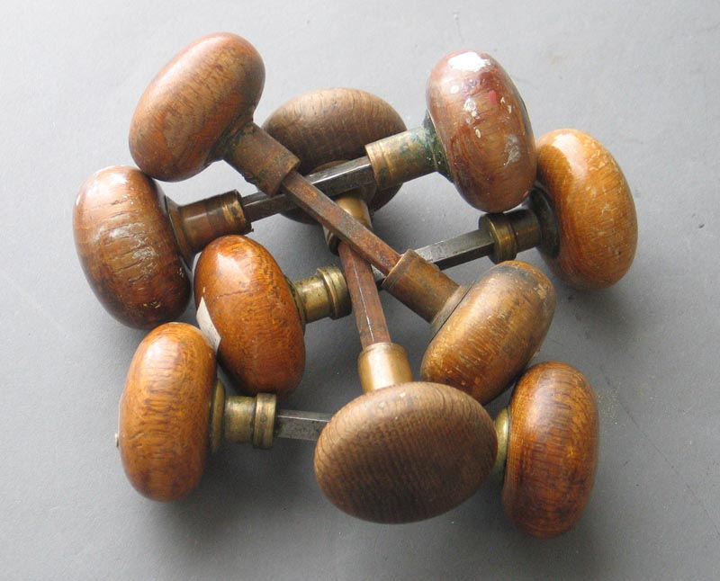 wooden door knobs photo - 8
