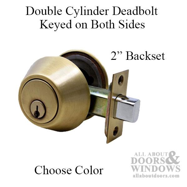 2 inch backset door knobs photo - 16