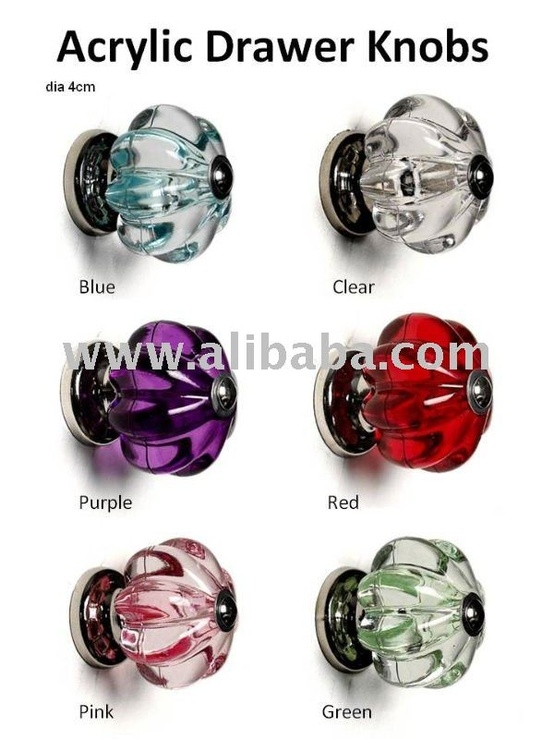 acrylic door knobs photo - 20