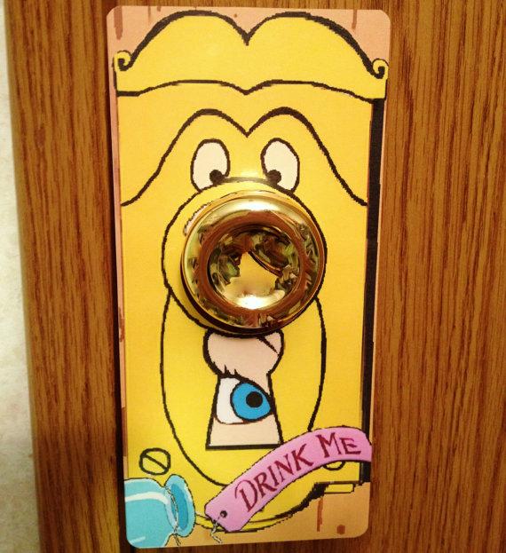 alice in wonderland door knob buy photo - 5
