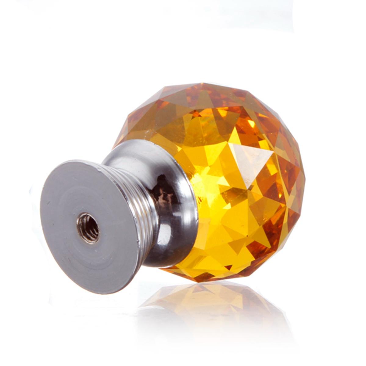 amber glass door knobs photo - 13