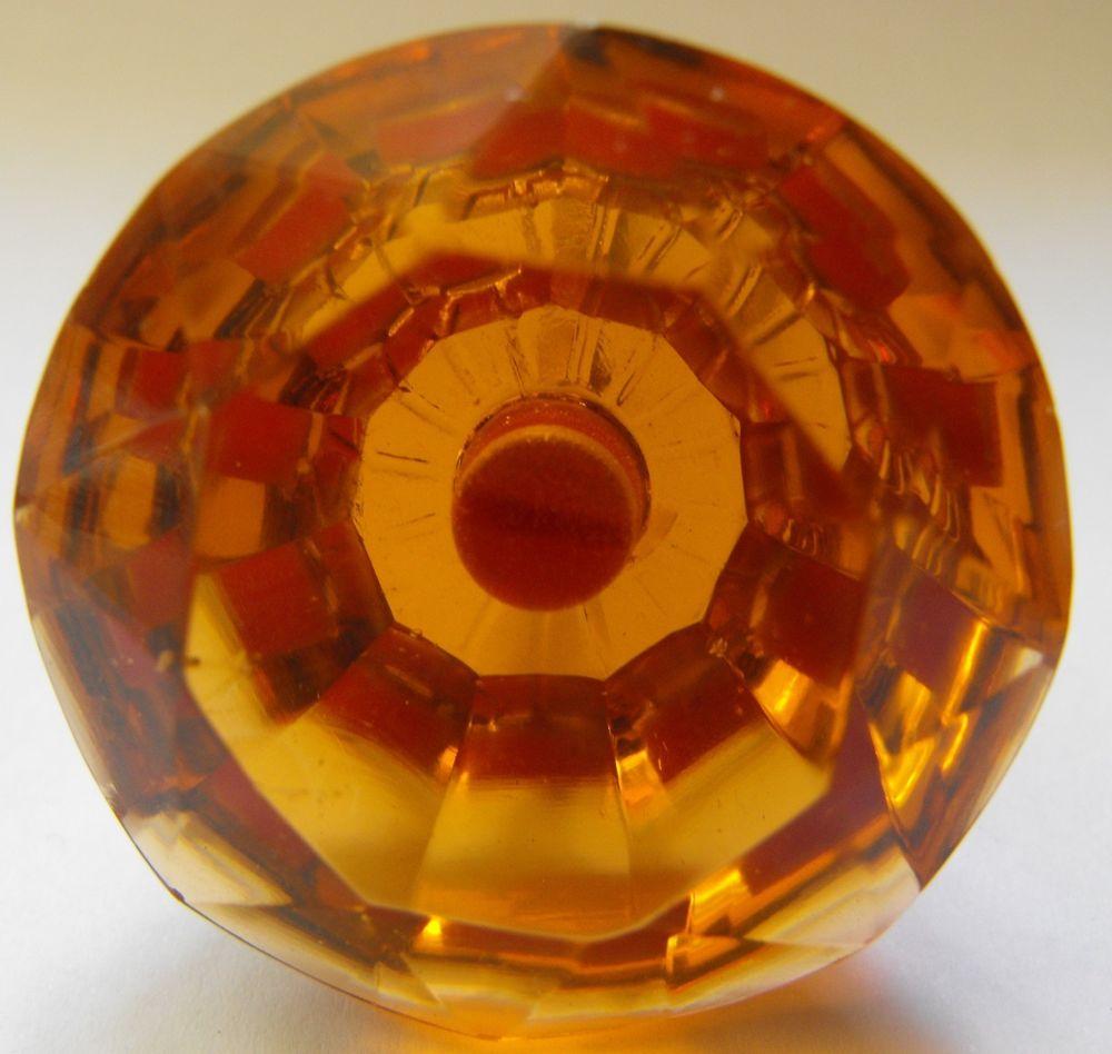 amber glass door knobs photo - 18
