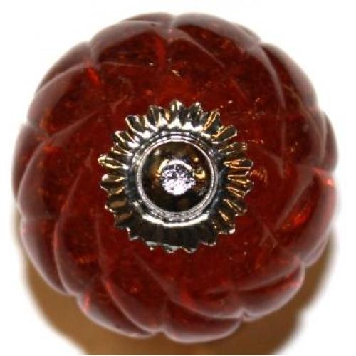 amber glass door knobs photo - 8