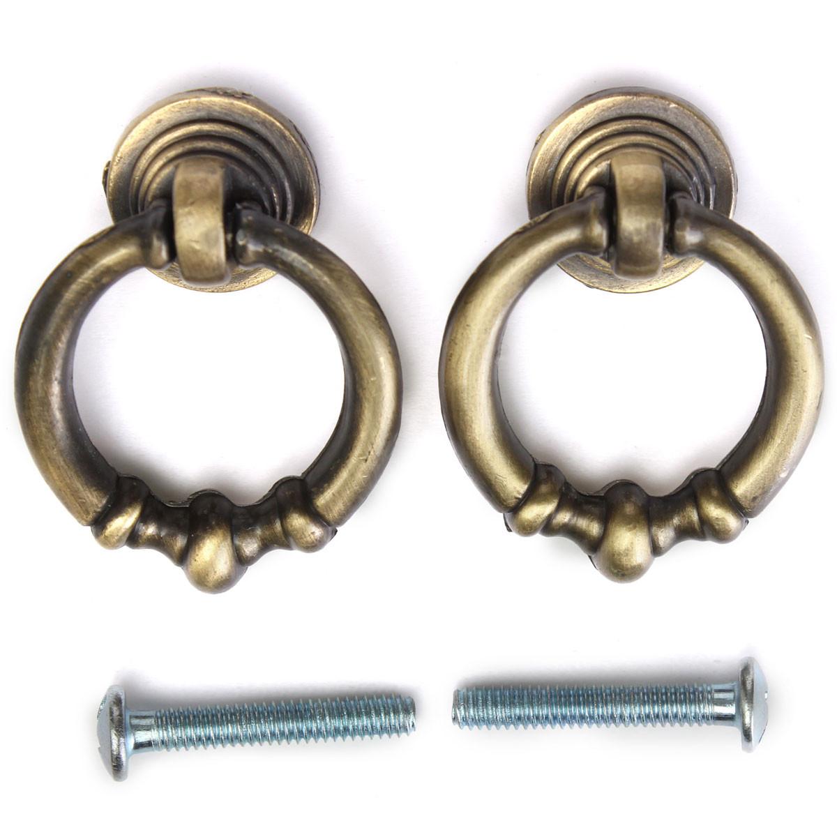 antique brass cupboard door knobs photo - 19
