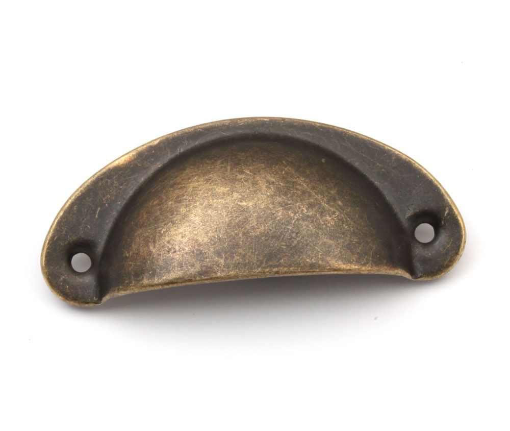 antique brass cupboard door knobs photo - 6