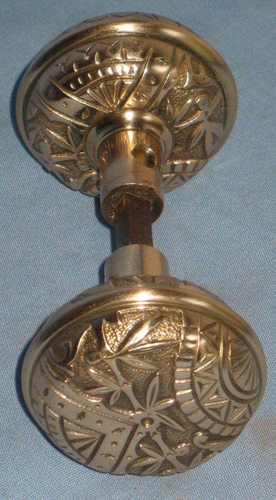 antique brass door knobs ebay photo - 19