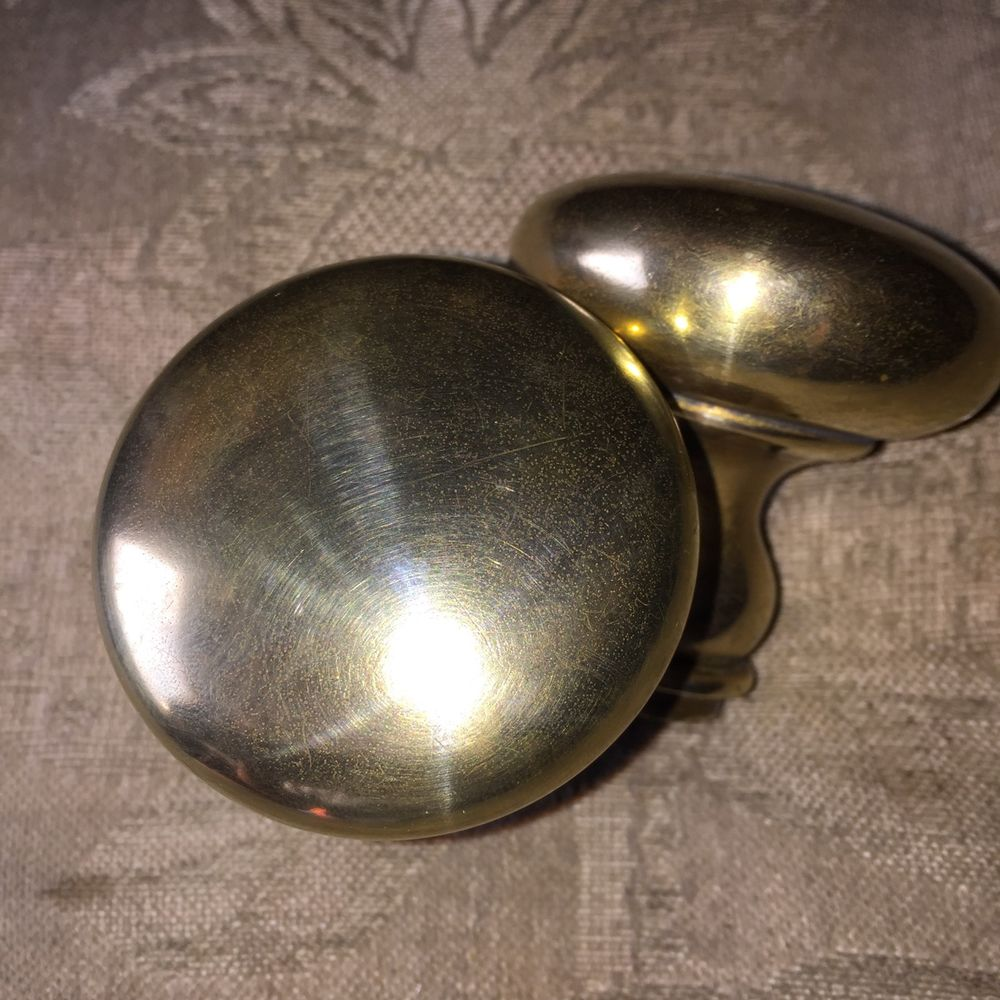 antique brass door knobs ebay photo - 9