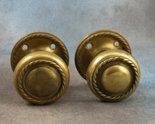antique brass door knobs for sale photo - 1