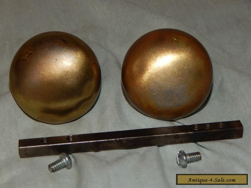 antique brass door knobs for sale photo - 10