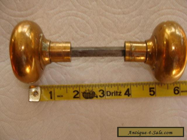 antique brass door knobs for sale photo - 11