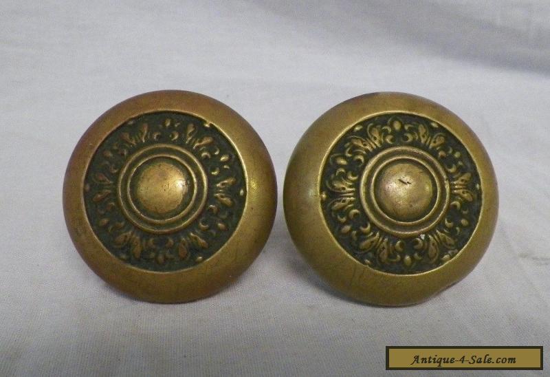 antique brass door knobs for sale photo - 17