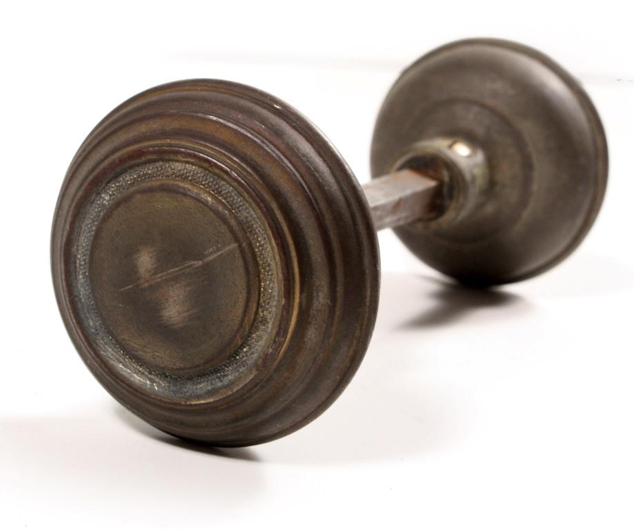 antique brass door knobs for sale photo - 4