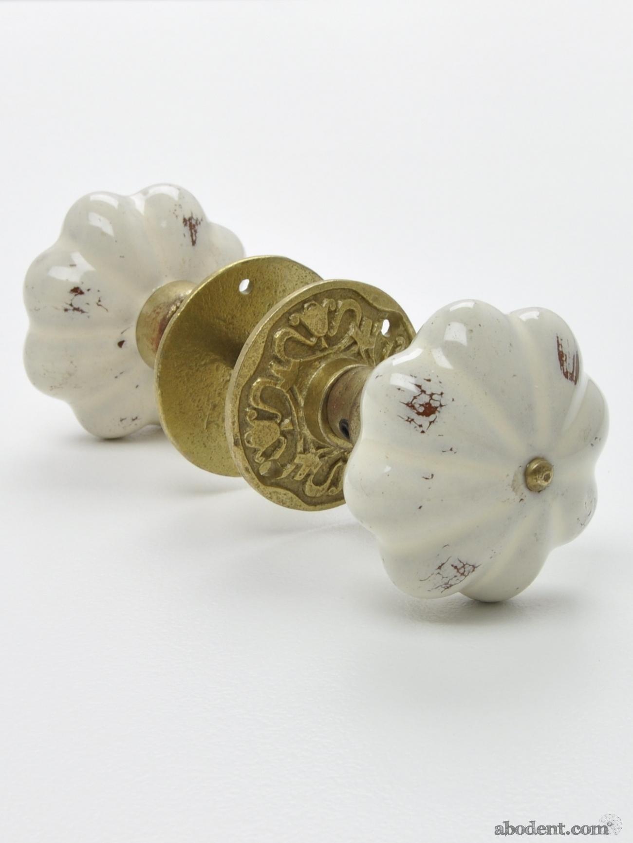antique ceramic door knobs photo - 10