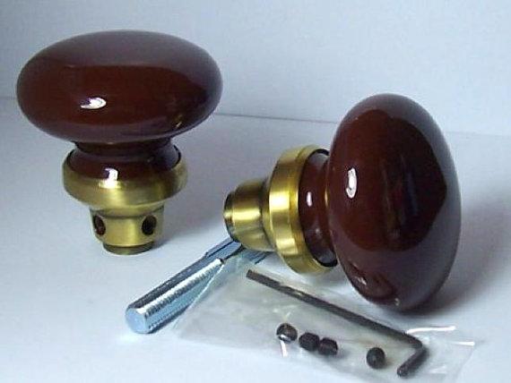 antique ceramic door knobs photo - 14