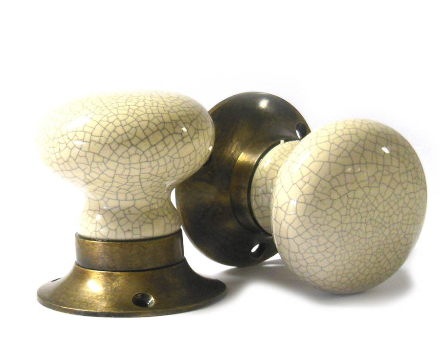 antique ceramic door knobs photo - 16