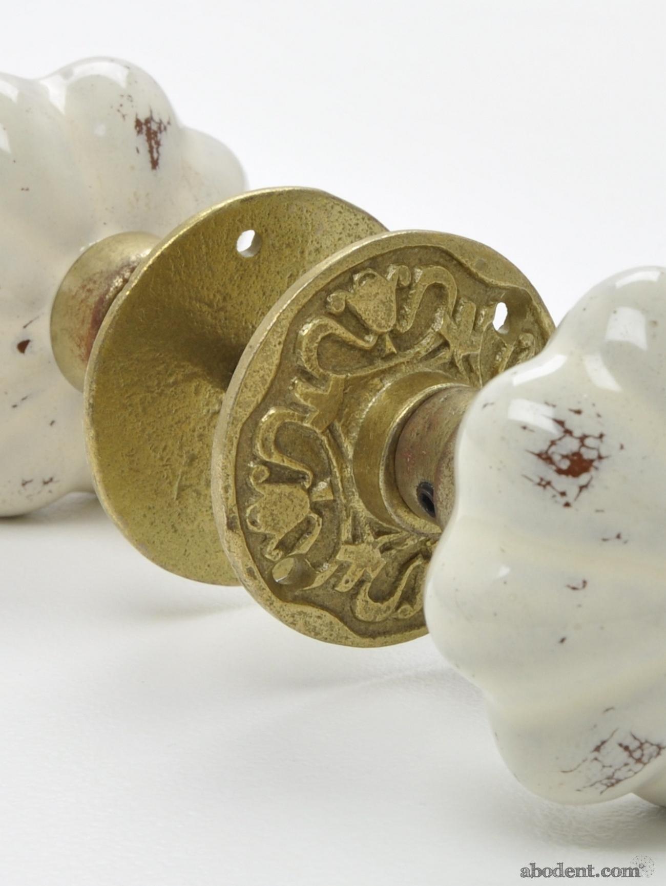 antique ceramic door knobs photo - 7