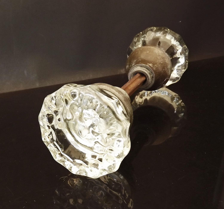 antique crystal door knobs photo - 8