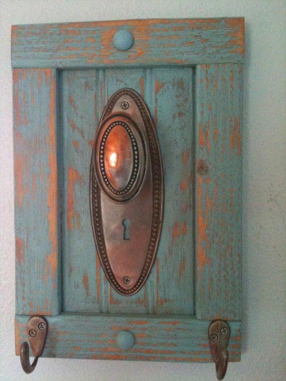 antique door knob coat rack photo - 19