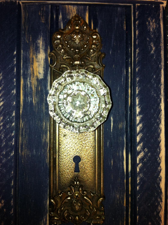antique door knob coat rack photo - 5