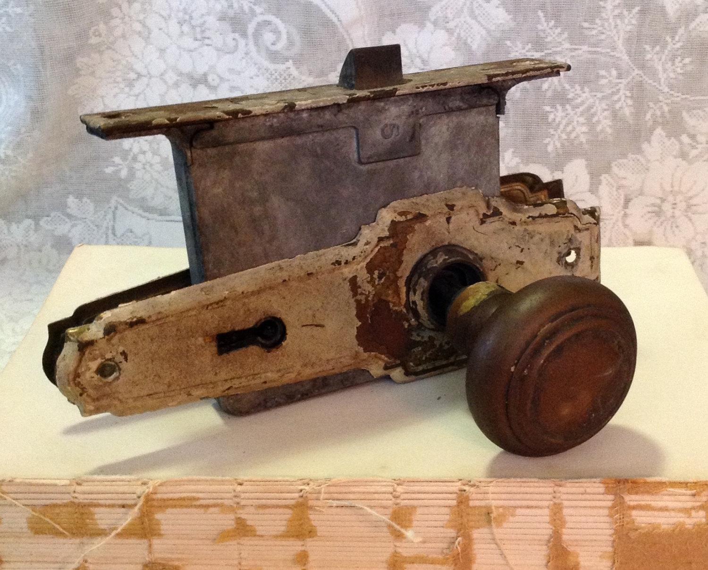 antique door knob plates photo - 18