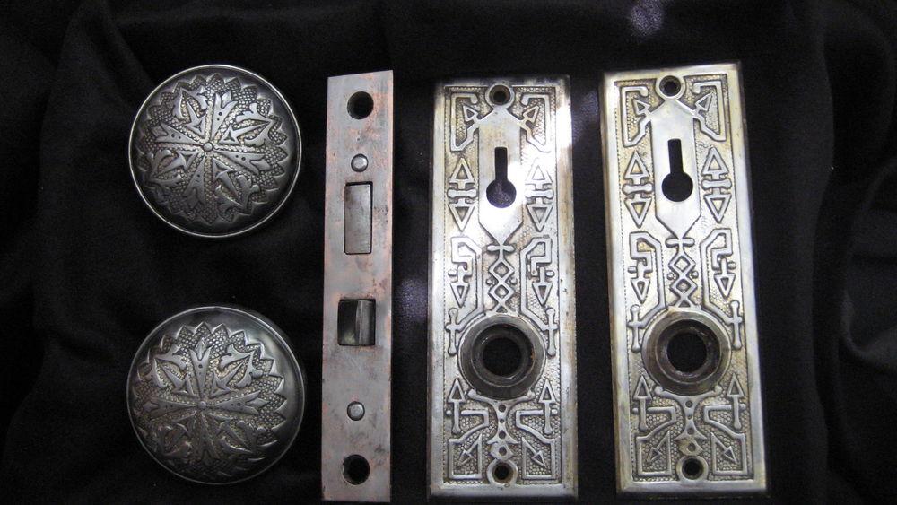 antique door knob sets photo - 17