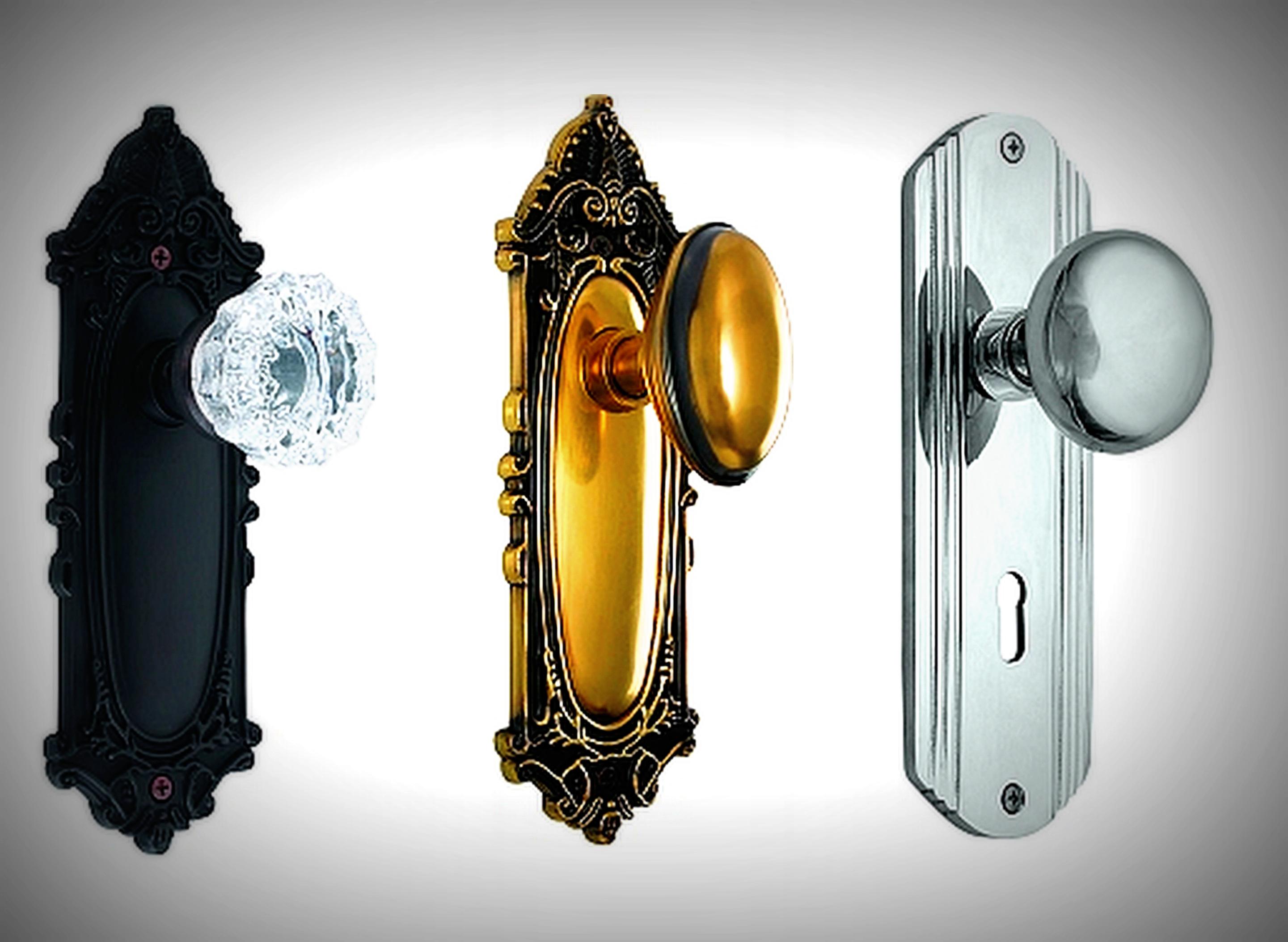 antique door knobs and hardware photo - 16