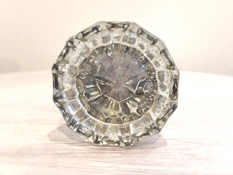 antique door knobs glass photo - 14