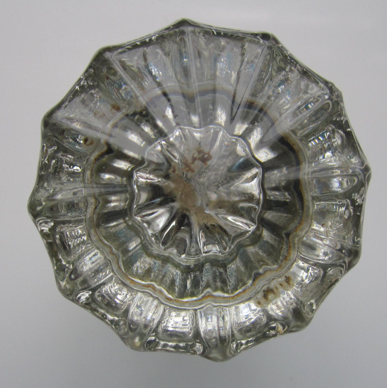 antique door knobs glass photo - 3