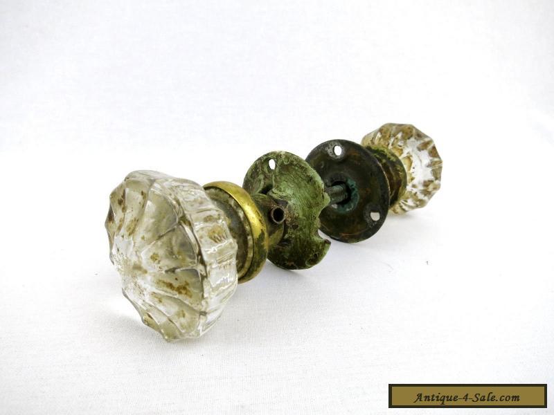 antique glass door knobs for sale photo - 18