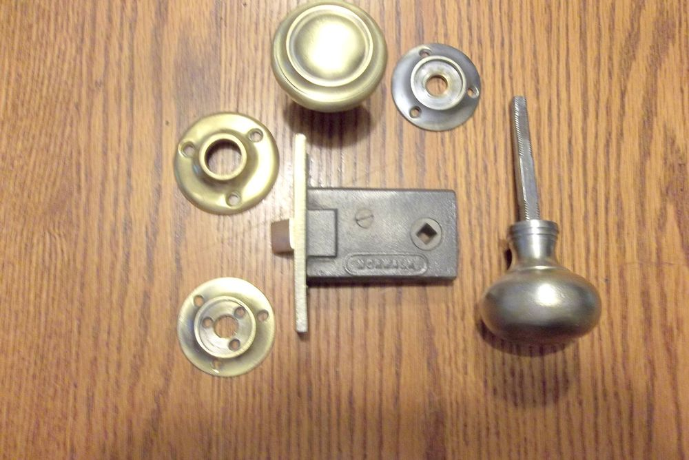 antique interior door knobs photo - 8