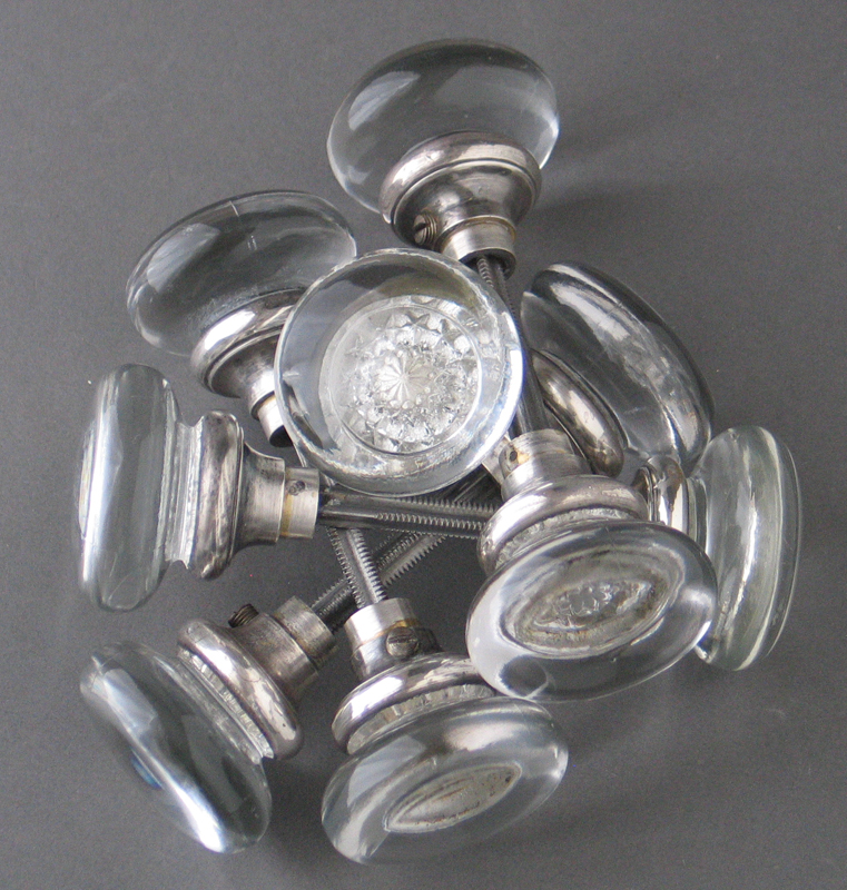antique nickel door knobs photo - 18