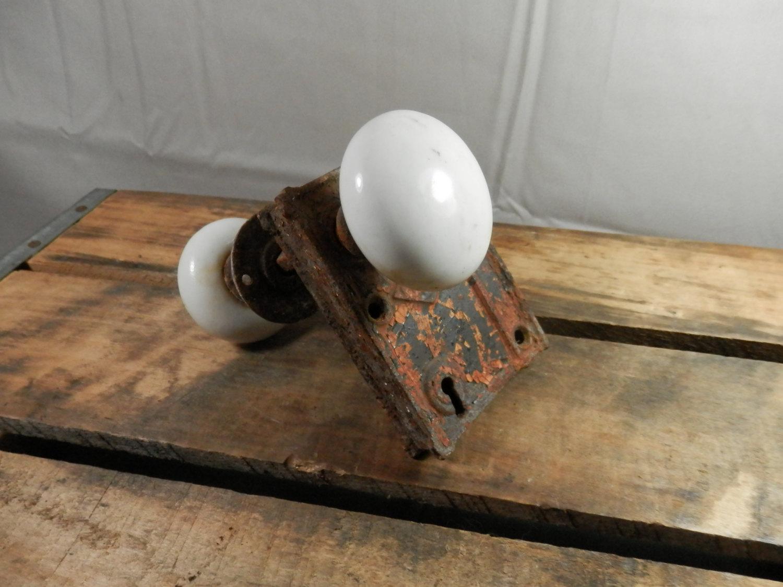 antique porcelain door knobs photo - 16