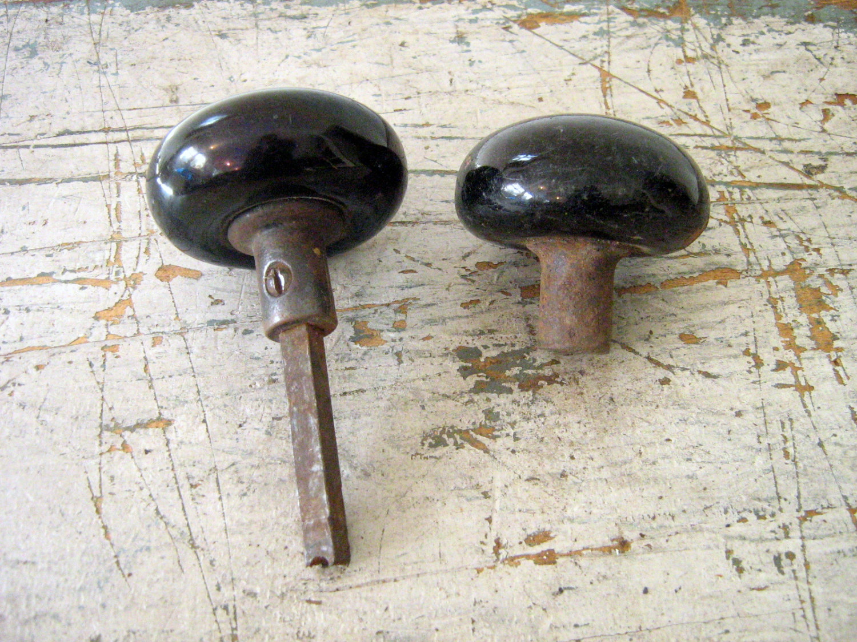antique porcelain door knobs photo - 20