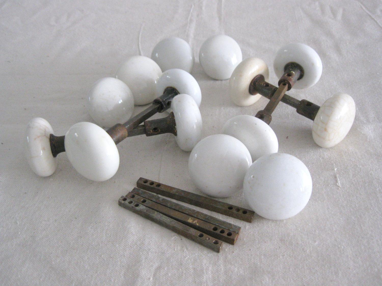 antique porcelain door knobs photo - 5