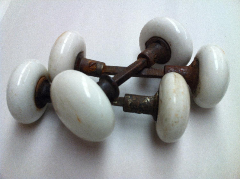 antique porcelain door knobs photo - 8