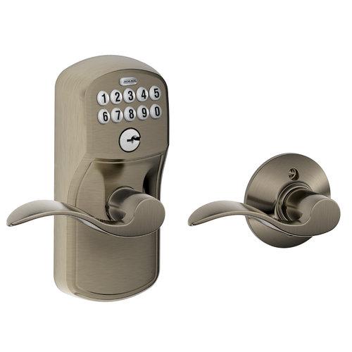 auto lock door knob photo - 15