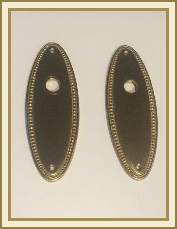 backplates for door knobs photo - 16