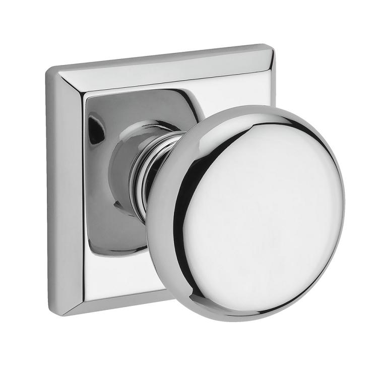 baldwin door knob installation photo - 1